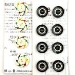Pinwheel and Target Caseins