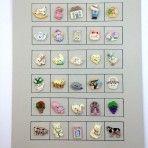 Cute Buttons Card