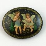 Russian Handpainted Musical Angels