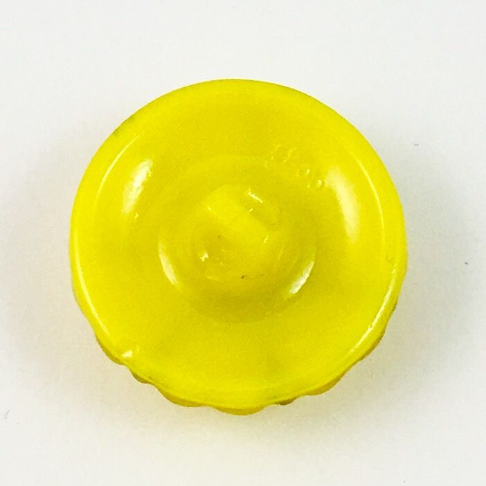 Faceted ruby jeweled lemon yellow glass house of button for Lemon button