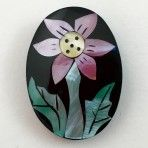 Floral Pearl Inlay