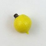 Realistic Lemon Yellow Glass