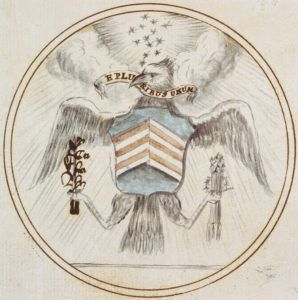 US_Great_Seal_Charles_Thomson_Preliminary_Design