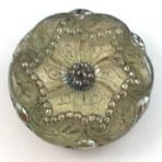 Silver Tipped Lacy Glass