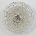 Lacy Clear Glass