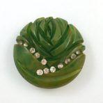Green Bakelite Rose