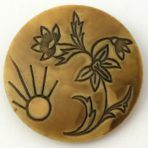 Sun and Flower Wafer