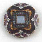 Painted Jewel Opaline Glass