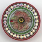 Rossi Rooster with Glass Bead