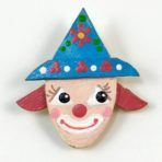 Handpainted Clown Face