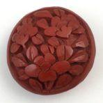 Floral Carved Cinnabar