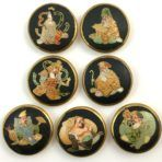 Satsuma Japanese Immortals Set