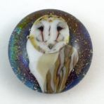 Paperweight Glass Owl