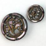 Art Nouveau Pearl Duo